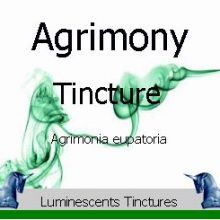 agrimony-tincture-label