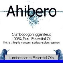 ahibero-essential-oil-label