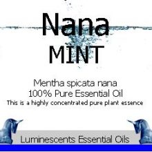 nana-mint-essential-oil-label