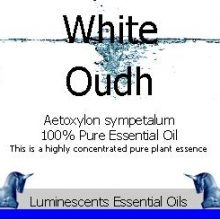 white oudh essential oil label copyright d hugonin