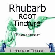 Rhubarb Root Tincture
