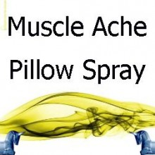 Muscle Ache Pillow Spray