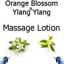 Orange Blossom and ylang ylang massage lotion