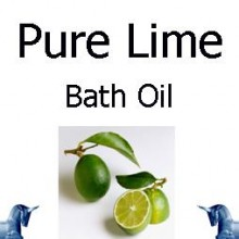 Pure Lime Bath Oil