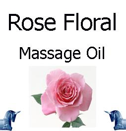 Rose Floral Massage Oil