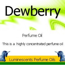 Dewberry Perfume Oil Label