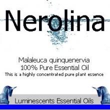 nerolina essential oil label