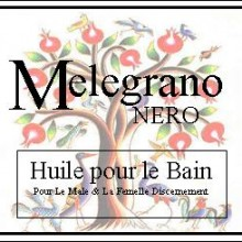 melegrano nero bath oil