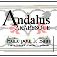 andalus bath oil