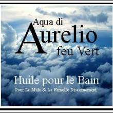 Aurelio feu vert bath oil