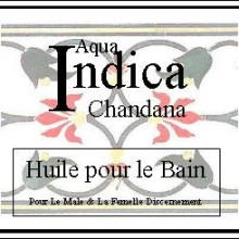 indica chandana bath oil
