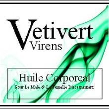 Vetivert Virens Body Oil