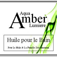 amber lumiere bath oil