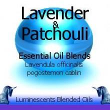 lavender and patchouli blended essential oils