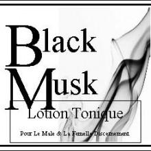 black musk body lotion