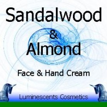 sandalwood and almond cream