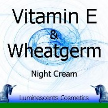 vitamin E and Wheatgerm night cream
