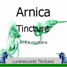 arnica flower tincture label