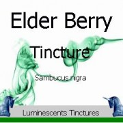 elder berry tincture label