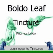 Boldo Leaf Tincture label