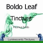 Boldo Leaf Tincture label