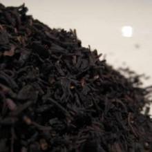 Vanilla flavoured black tea leaves