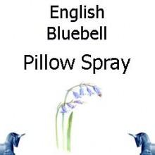 english bluebell pillow spray