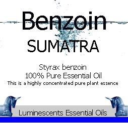 Benzoin (Sumatra) Essential Oil (Styrax benzoin) 100% Pure