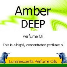 amber-deep-perfume-oil label