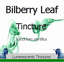 bilberry-leaf-tincture-label