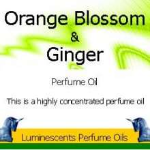 orange-blossom-and-ginger perfume oil label