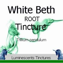 white-beth-root-tincture-label