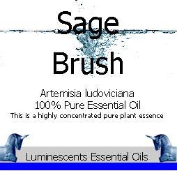 sage-brush-essential-oil-label