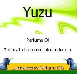 Yuzu Peerfume Oil Label copyright d hugonin