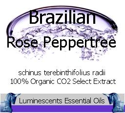 brazilian rose peppertree co2 select extraction
