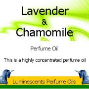 lavender and chamomile perfume oil label coyright d hugonin
