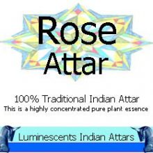 rose attar label copyright d hugonin