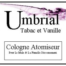 Umbrial Tabac et Vanille
