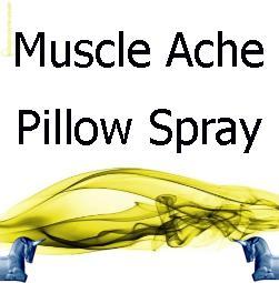 Muscle Ache Pillow Spray