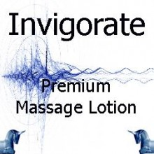 invigorate Premium Massage Lotion