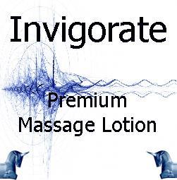 invigorate Premium Massage Lotion