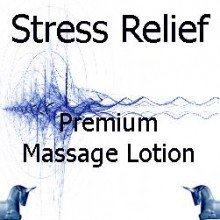 Stress Relief Premium Massage Lotion
