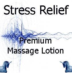 Stress Relief Premium Massage Lotion
