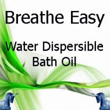 Breathe Easy Water Dispersible Bath Oil
