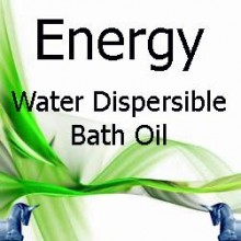 Energy Water Dispersible Bath Oil