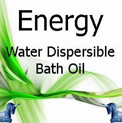 Energy Water Dispersible Bath Oil