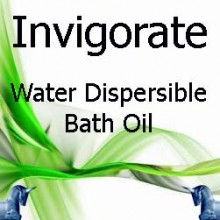 Invigorate Water Dispersible Bath Oil
