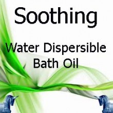 Soothing Water Dispersible Bath Oil