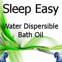Sleep Easy Bath Oil