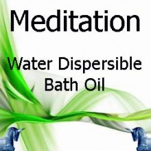 Meditation Dispersible Bath Oil